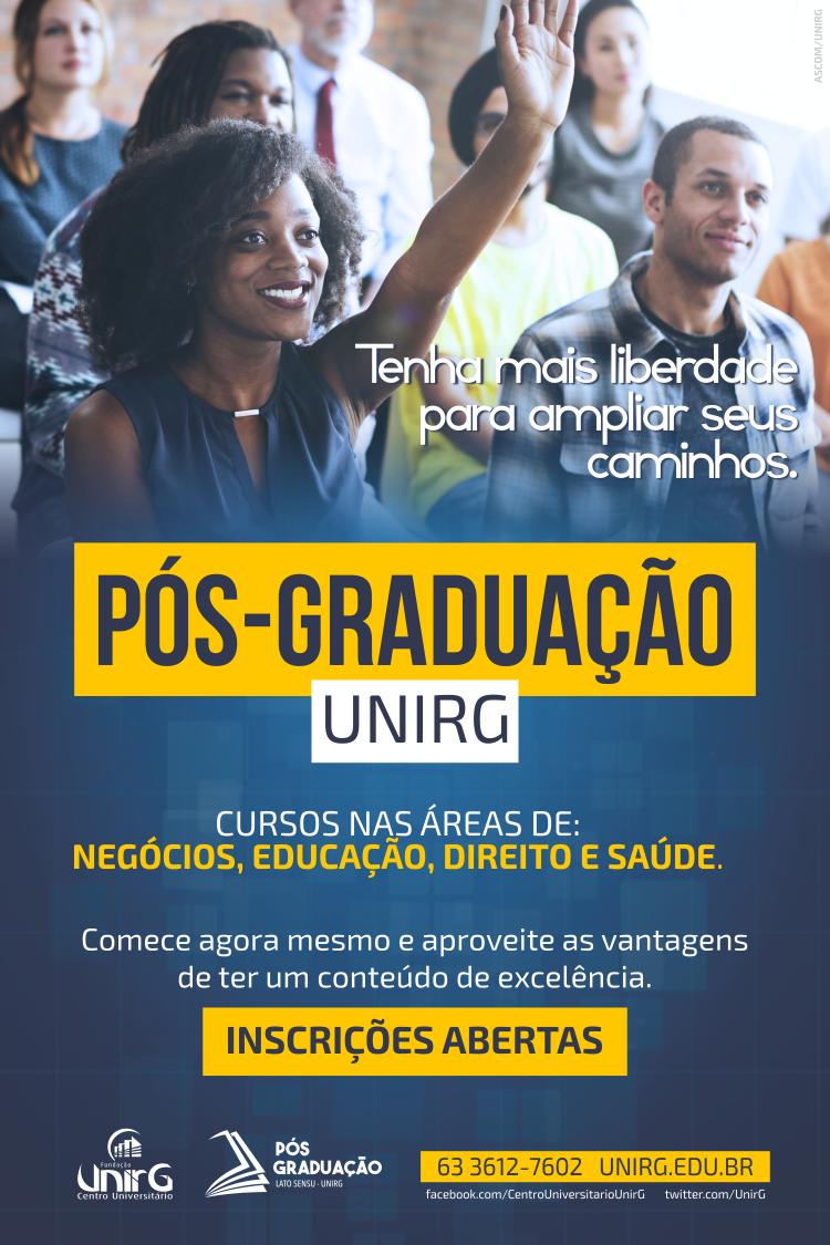 banner pos-graduação